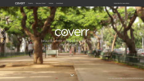 Coverr - Beautiful, free videos | Mobile learning for students and teachers | Scoop.it