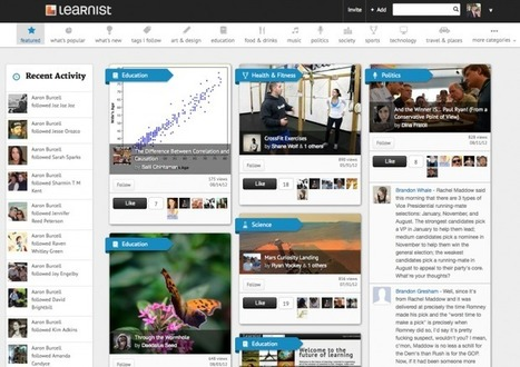 3 Big Updates To Learnist You Should Know About  (The Pinterest for Educators) | onderwijs innovatie | Scoop.it