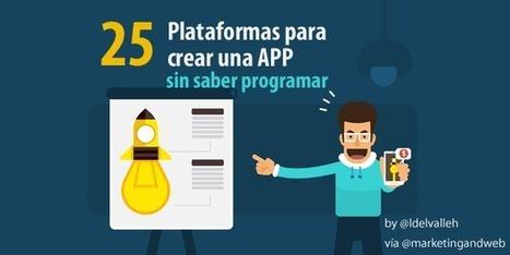 25 plataformas para crear apps sin saber programar | Las Aplicaciones de Salud | Scoop.it