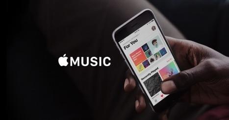 Apple Music payerait deux fois mieux les artistes que Spotify | The music industry in the digital context | Scoop.it