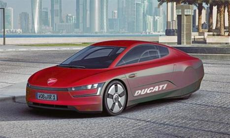 Ducati-powered VW XL1 in the works, may be called XLR   Ductalk Ducati News   Scoop.it
