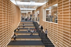 The Bookshelf Library, Mushashino University Library, Tokyo | SocialLibrary | Scoop.it