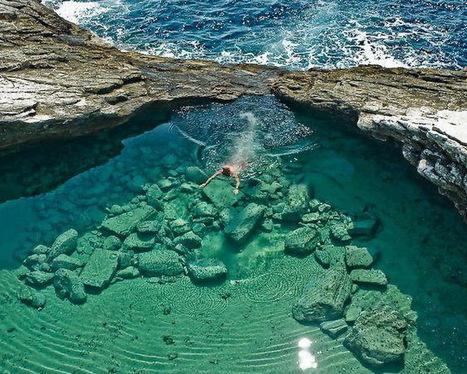 Greece: Laguna Giola, Thassos | Wicked! | Scoop.it
