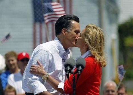 Ann et Mitt Romney: le baiser mormon | #compol | Scoop.it