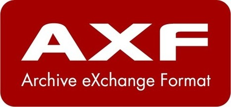 Archive eXchange format : open archive and preservation format for the long term   Video Breakthroughs   Scoop.it