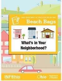 Beach Bag - What's in Your Neighborhood? (2014) | Bags and Lesson Plans (INFOhio) | Scoop.it