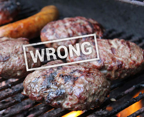 13 Ways You're Grilling Burgers Wrong | @FoodMeditations Time | Scoop.it