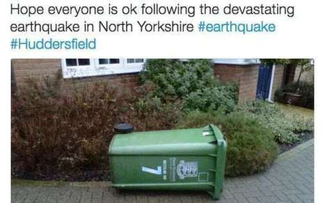 Yorkshire residents laugh off biggest earthquake to hit Britain in nearly a decade: the funniest tweets | Geology | Scoop.it