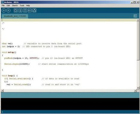 how to Control arduino by bluetooth from (PC, pocket PC PDA) | TPE 2014-2015 | Scoop.it