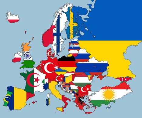 2nd Largest Nationality Living In Each European Country - Brilliant Maps | Systemic Innovation & Sustainable Development | Scoop.it