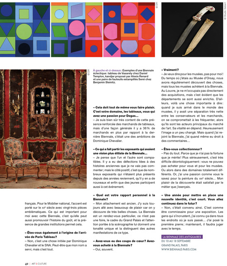 """Henri Loyrette """"Donner un nouveau rayonnement à la Biennale"""" (3/3)   La Biennale - Paris   Scoop.it"""