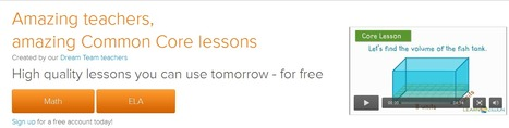 LearnZillion: Amazing Common Core Lessons Grades 3 -12 >Math & ELA | Technology in Art And Education | Scoop.it