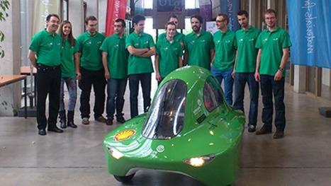 RTBF.be ⎥Les étudiants ingénieurs de l'ULg en piste pour le Shell Eco-marathon   L'actualité de l'Université de Liège (ULg)   Scoop.it