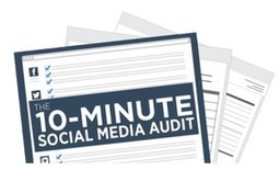 How To Audit Your Social Media Strategy in 7 Minutes [CHECKLIST] | Agile Marketing | Scoop.it
