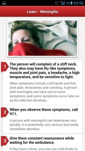 American Red Cross aplicación de primeros auxilios para Android es una aplicación buena para sugerir a los pacientes | eSalud Social Media | Scoop.it