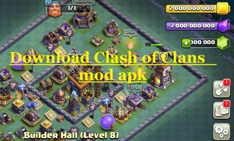 clash of clans private server coc mod