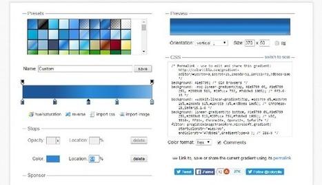 Les techniques de l'intégrateur : l'illustration animée en CSS | News Tech | Scoop.it