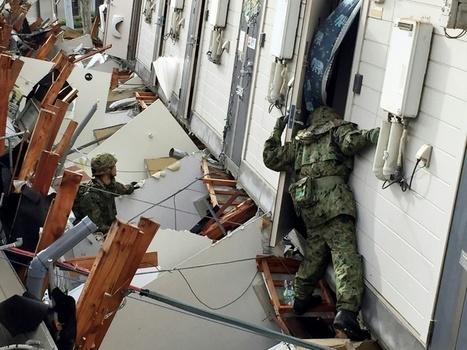Japon : après les séismes, une bataille contre les glissements de terrain | Japan Tsunami | Scoop.it