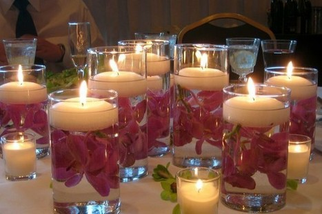 Romantic Centerpieces | Fabulous Weddings | Scoop.it