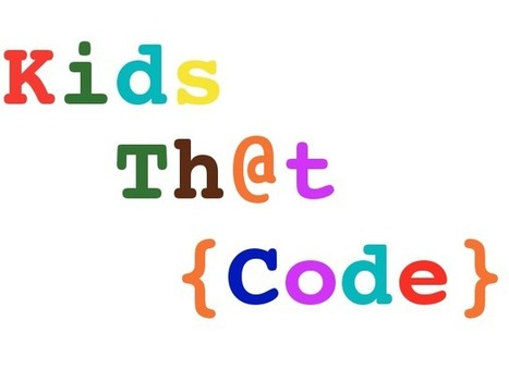 The best Apps to teach kids Coding [@CoderFactory Blog] | COMPUTATIONAL THINKING and CYBERLEARNING | Scoop.it