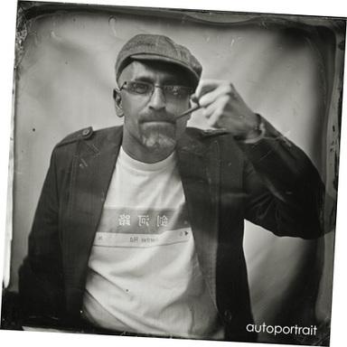 Kal Khogali et l'art du collodion dans la rubrique Escale Villanoeme | Photographie B&W | Scoop.it