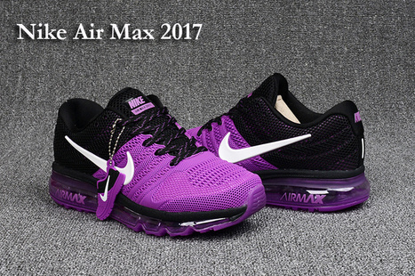 various colors 538f2 44a06 Nike Air Max 2017 Women Black Purple PVC -  75.99   nike and adidas sports  shoes