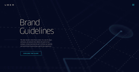 Uber Brand Guide - Home | UX-UI design | Scoop.it
