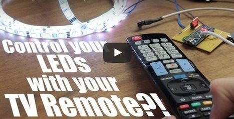 Control your LEDs with your TV remote (Arduino IR Tutorial) | Differentiation Strategies | Scoop.it