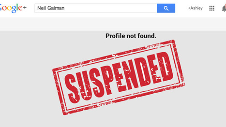 Google+ Thinks the Account It Personally Set Up for Neil Gaiman Is Fake - Gizmodo   Blogs About Google+ , Google, Twitter , LinkedIn, FaceBook, Skype   Scoop.it