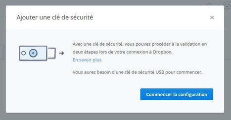 Dropbox ajoute la sécurisation du compte par clé USB - Numerama | Autour du nuage, sauvegarde mais pas que | Scoop.it