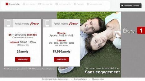 Free invente le distributeur automatique de carte SIM   Entrepreneurs du Web   Scoop.it