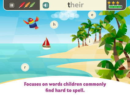 Spell with Pip app : Children's: Oxford University Press | Web 2.00 tools and ideas for your EFL class | Scoop.it