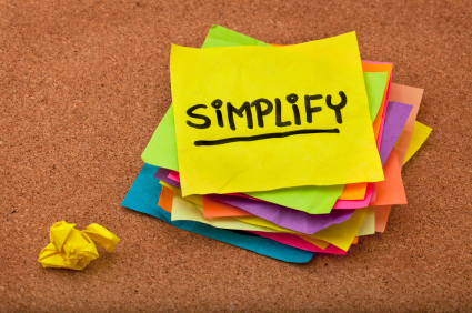 Benefits of Simplicity to Productivity | Life @ Work | Scoop.it