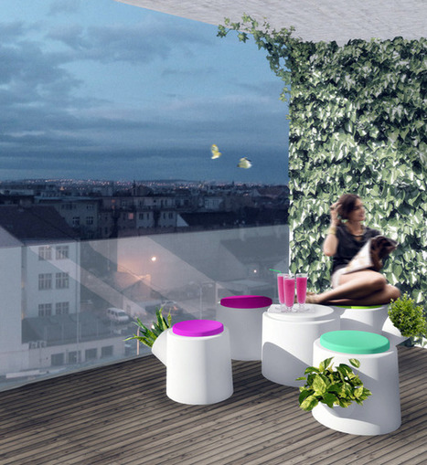 Design Challenge: Ten Urban Balcony Garden Ideas | Urban Gardens | Unlimited Thinking For Limited Spaces | Urban Gardens | Vertical Farm - Food Factory | Scoop.it
