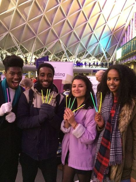 Chemistry busking at King's Cross | STEM Connections | Scoop.it