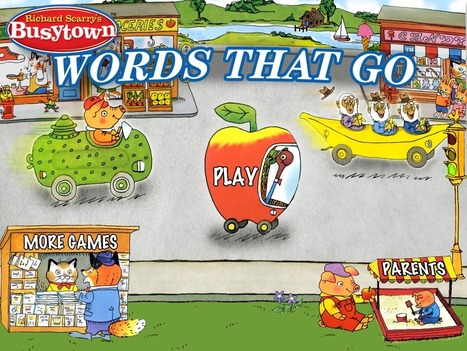 Words that Go with Richard Scarry's Busytown Cars | Apps for Children with Special Needs | Scoop.it