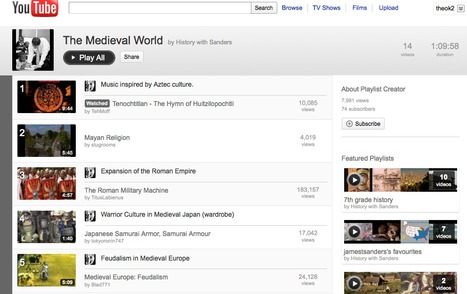 The Medieval World - YouTube | Video for Learning | Scoop.it