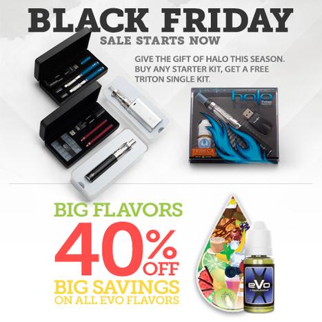 Black Friday Sale | E-Cigarettes | Halo Cigs | Scoop.it