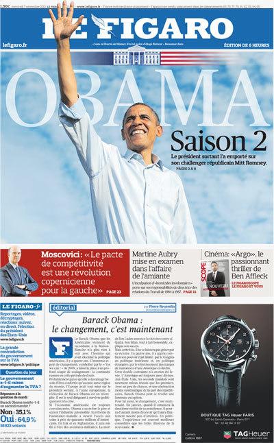 Le Figaro - Election Américaine : En direct : l'élection présidentielle américaine 2012 | TAHITI Le Mag | Scoop.it