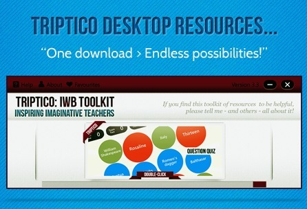 Triptico-Desktop Eesources for Teachers | educational technology for teachers | Scoop.it