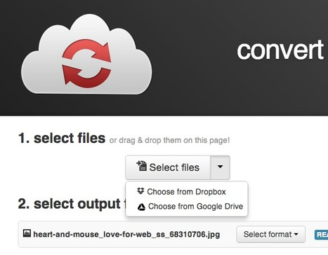 Convert Any File, Up To 1GB Into Any Other Format for Free with CloudConvert | Online Video Publishing | Scoop.it