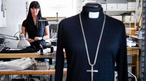 En Suède, les femmes pasteurs ont leur styliste | Métiers, emplois et formations dans la filière cuir | Scoop.it