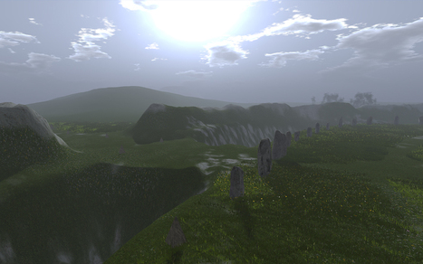 Creating Terrain Surrounds for OpenSimulator in Blender | Virtual Worlds, Virtual Reality & Role Play | Scoop.it