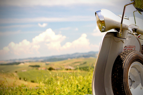 Discover the Valdera area of Tuscany on a Vespa | Travel and Vacation Getaway | Scoop.it