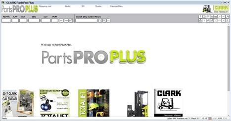 Download (Clark Parts Pro) Clark ForkLift Truck