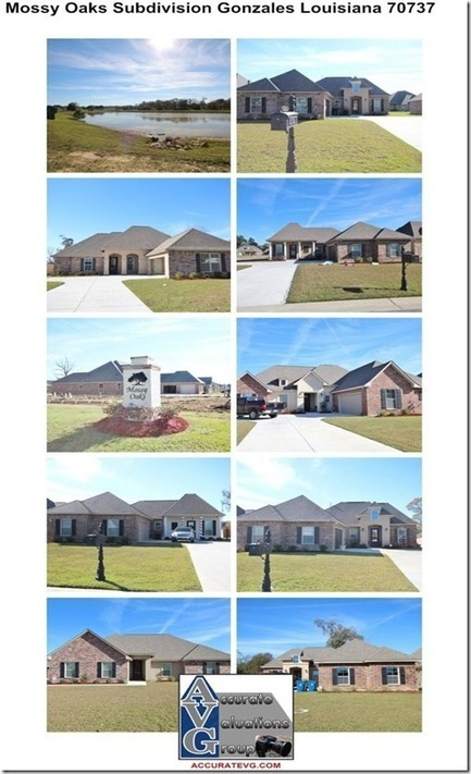 Mossy Oaks Subdivision Gonzales Louisiana Home Sales Update 2015 | Ascension Parish Real Estate News | Scoop.it