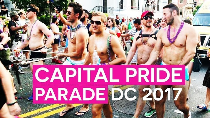 VIDEO: Capital Pride Parade 2017 / Washington DC