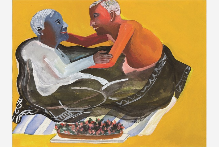 First exhibition of the Indian painter Bhupen Khakhar in Germany on view at Deutsche Bank KunstHalle | Art Daily | Kiosque du monde : Asie | Scoop.it