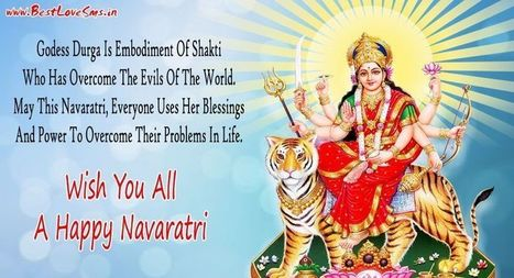 New Happy Navratri Messages In Hindi English