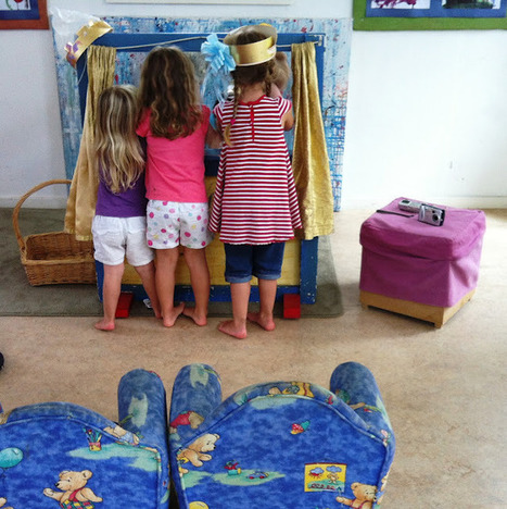 let the children play: The puppet show is in town. | Learn through Play - pre-K | Scoop.it